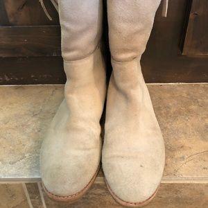 Kate Spade faux fur lined booties